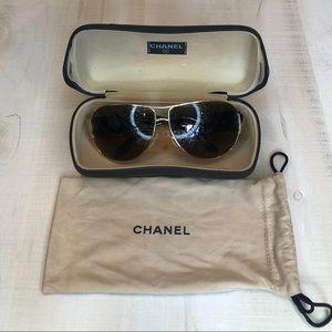 Chanel Sunglasses | Aviators | 4128